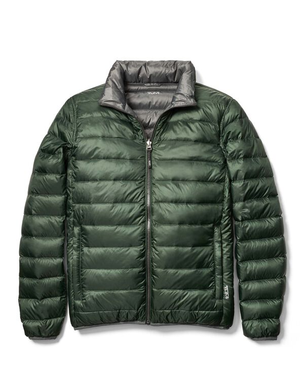 Tumi PAX Outerwear Patrol Reversible Packable Travel Puffer Jacket M