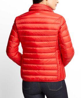 Women's - Clairmont Packable Travel Puffer Jacket L Tumi PAX Outerwear