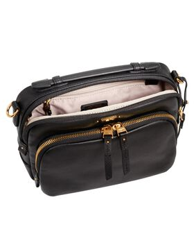 Luanda Leather Flight Bag Voyageur