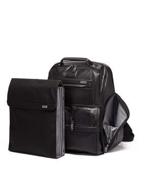 Compacte Lederen Laptop Brief Pack® Rugzak Alpha 3