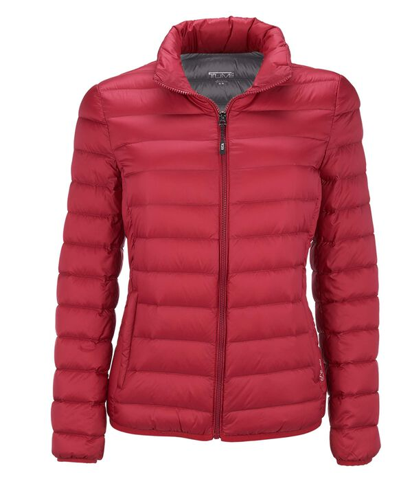 Tumi PAX Outerwear Women's - Clairmont Packable Travel Puffer Jacket L