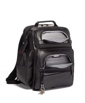 Tumi T-Pass® Lederen Business Class Brief Pack® Rugzak Alpha 3