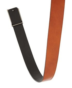 T Buckle Leather Reversible Belt Belts