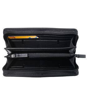 TUMI ID Lock™ Zip-Around Travel Wallet Nassau