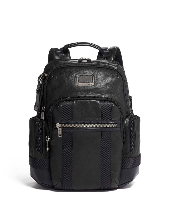 Alpha Bravo Nathan Backpack Leather