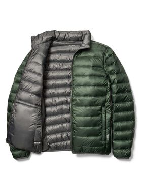 Patrol Omkeerbaar en inpakbaar reisdonsjack M Tumi PAX Outerwear