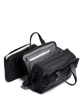 Uitbreidbare laptoptas met organizer Alpha 3